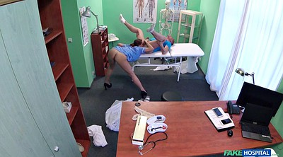 Hidden, Hot nurse, Hidden office, Doctor fuck