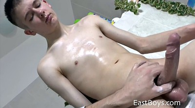 Hard handjob, Gay handjob, Cock massage