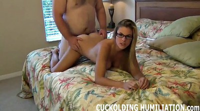 Wife, In front of, Femdom cuckold