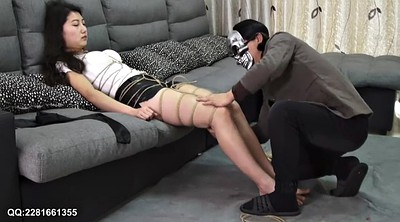 Asian solo, Hot, Blindfolded