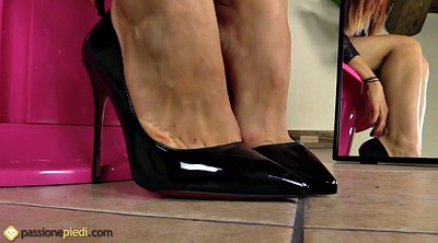 Nylon foot, Nylon feet, Feet nylon