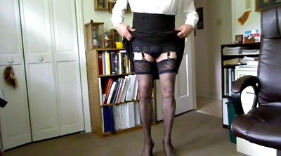 Crossdress, Stockings solo, Solo pantyhose