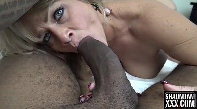Granny interracial, Mature deep throat