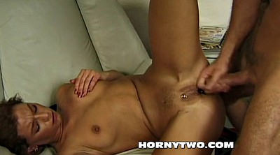 Pussy, Wet, Shaved pussy, Piercing
