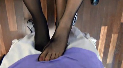 Footjob, Nylon feet, Nylon footjob, Nylon foot, Footjob nylon, Foot nylon