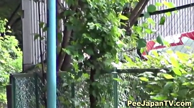 Japanese outdoor, Voyeur, Japanese public, Outdoor pee, Japanese in public, Public pee