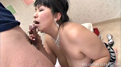 Tit job, Asian mature