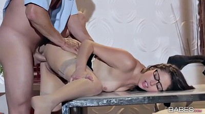 Secretary, Hot guys, Glasses, Hot guys fuck
