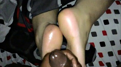 Foot, Foot massage, Ebony feet