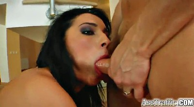 Double anal, Penetration, Long hair, Dp anal, Double blowjob, Anal dp