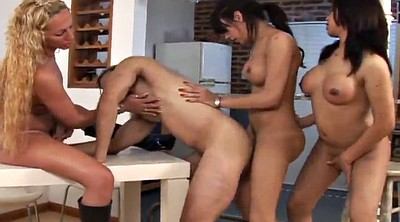 Shemale gangbang, Muscular