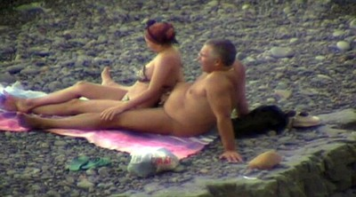 Groping, Groped, Mature wife, Public groping, Beach mature