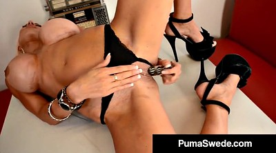 Puma swede, Mature masturbating, Puma
