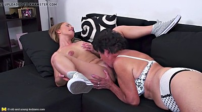 Daughter, Mother daughter, Taboo, Taboo sex, Sex with mother, Old young lesbian