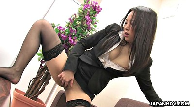 Office, Japanese office, Secretary, Nylons, Japanese stocking, Stockings solo
