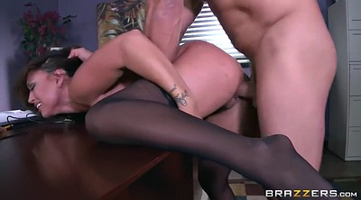 Office milf, Office boss, Angelina