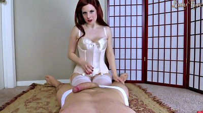 Pantyhose handjob, Sissy training