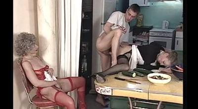 Granny anal, French mature