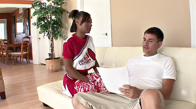 Ebony, Interracial teen