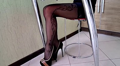 Pantyhose, High heels, Stocking heels, Shoe