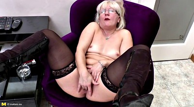 Amateur mature, Real mother