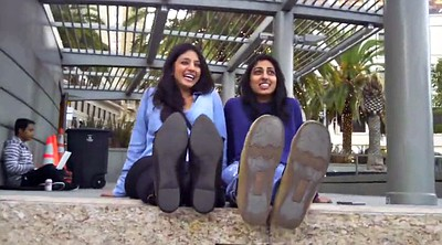 Arab, Indian girl, Stinky foot