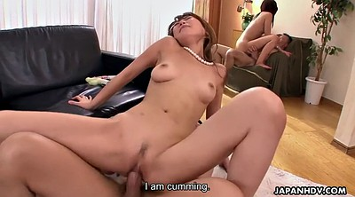 Yuri, Japanese riding, Group creampie