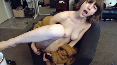 Dildo anal, Skinny webcam