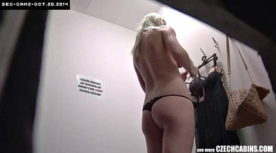 Spy, Czech amateur, Changing, Change, Changing room