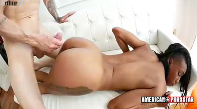 Interracial anal, Pov anal