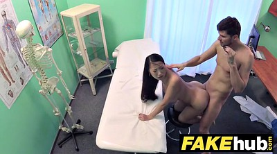 Hospital, Asian babe, Fake hospital