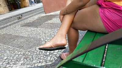 Street, Dirty feet, Soles feet