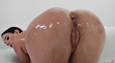 Angela white, Ass, Pussy ass, Huge tits solo