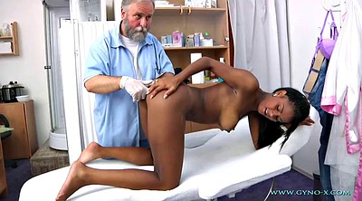 Gyno, Exam, Granny masturbation, Anal exam