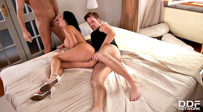 Mature group, Mature threesome, Mature anal sex