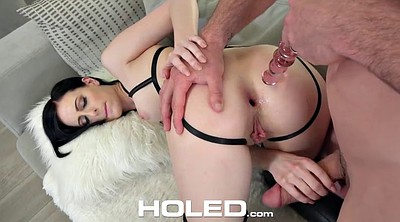 Anal creampie, Brunette, Creampies, Gaping