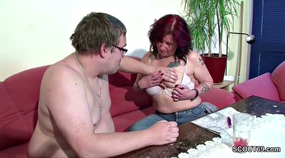Mom sons, German mature, Matured, Young mom, Old fuck, Step son