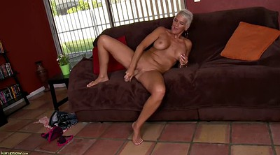 Solo mature, Short hair, Mature solo, Mature dildo