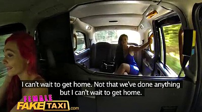 Fake taxi, Lesbians, Car, Female fake taxi, Female, Female orgasm