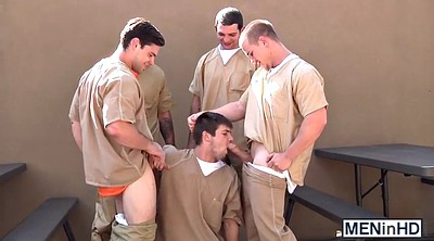 Prison, Prisoner, Group gay, Prisoners, Gay prison, Gay orgy