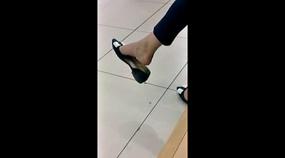 Compilation, Mall, Foot fetish