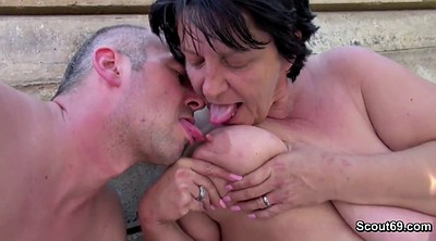 Public, Seducing, Granny hairy