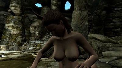 Cartoon, Cartoons, Skyrim, Milf bondage