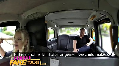 Taxi, Female, Female fake taxi