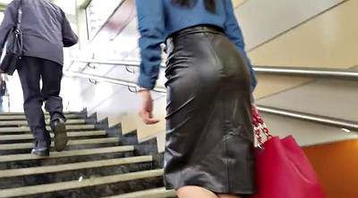 Skirt, Leather, Leather skirt