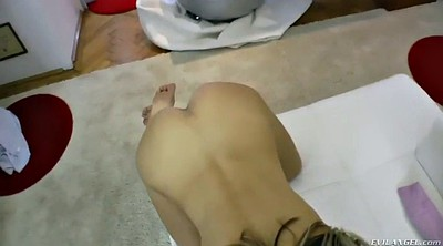 Russian, Russian foot, Teen foot, Ass gape