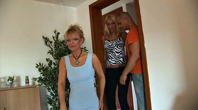 German old, Young mother, German milf