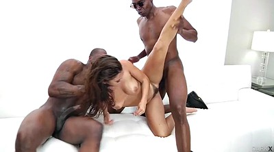 Interracial gangbang, Keisha, Black men, Black gangbang, Keisha grey