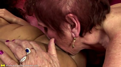 Hairy mature, Grannies, Young girls