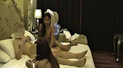 Hooker, Hotel, Asian hotel, Asian group, Asian couple